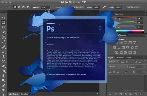 torrent adobe photoshop cs6 keygen mac