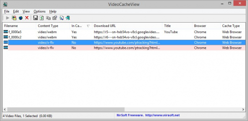 VideoCacheView Rus 2.7