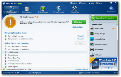 Wise Care 365 Pro 5.1