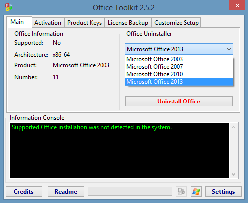 Activation Microsoft office 2007