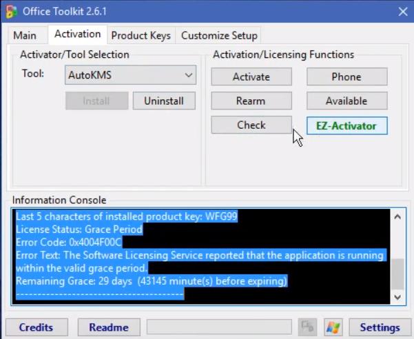 Скачать активатор Microsoft Office 2016 – Toolkit 2 6 2 + EZ
